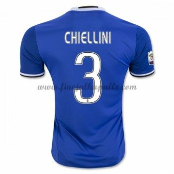 Jalkapallo Pelipaidat Juventus 2016-17 Chiellini 3 Vieraspaita