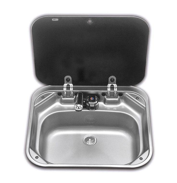 SMEV - VA8005 SINK WITH GLASS LID FOR CARAVAN MOTORHOMES AND BOATS VW T4 T5 T6 in Vehicle Parts & Accessories, Motorhome Parts & Accessories, Campervan & Motorhome Parts | eBay!
