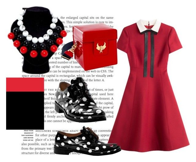 """""""Fashion Girl in Red"""" by alteregodress on Polyvore featuring Valentino"""