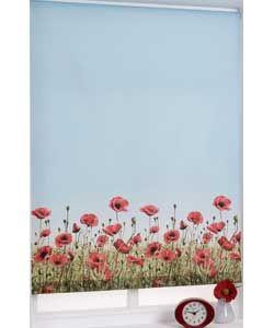 3ft Poppy Meadow Roller Blind - Multicoloured. Argos