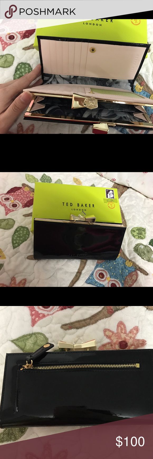 Ted Baker Wallet I have been used it twice for wedding only. Still good condition! Baker by Ted Baker Bags Wallets