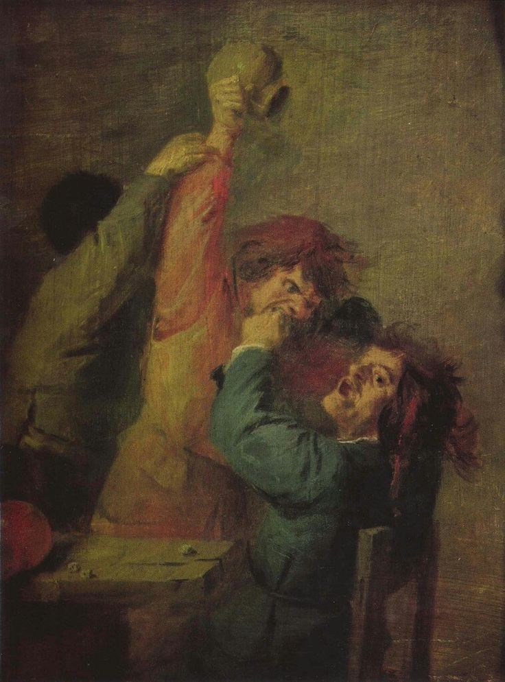 Smallholders Playing Dice,c.1635.
