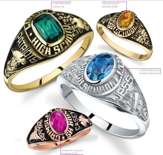 Class Ring Stylish
