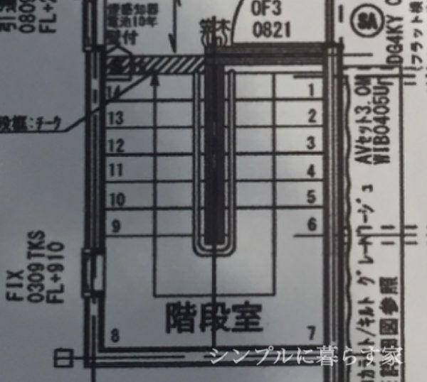 2 5畳以上のスペースで踊り場可能 理想は踊り場が1畳分フラット 5畳