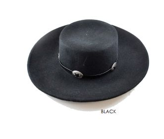 The Dakota Hat Black
