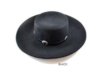 The Dakota Hat Black