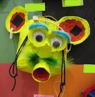 Fabulous Papier-Mache Masks, grade 3