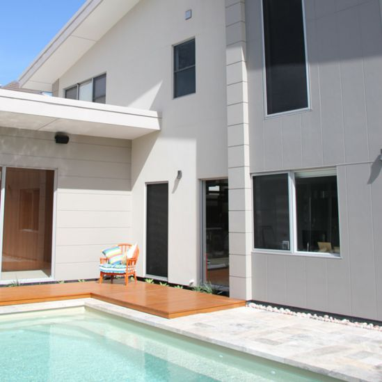 Sustainable Private Seaside Living | Scyon Wall Cladding And Floors