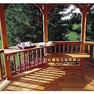 17 best images about outdoor spaces gazebos on pinterest for Built in gazebo