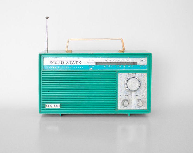 vintage radio Solid State transistor CONION