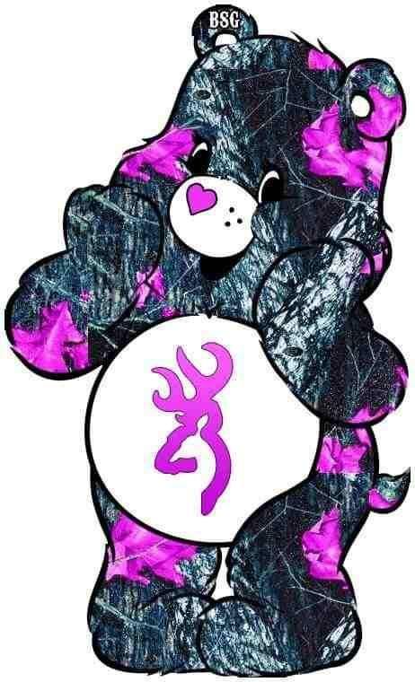 pink camo girl browning symbol