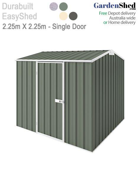 EasySheds 2.25m x 2.25m Single Door