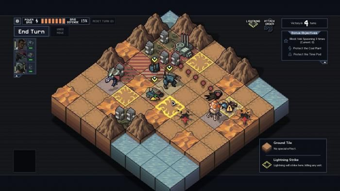 Into the Breach played: tactics pearl from the FTL creators   (Image: heise online)   With Into the Breach is all that Subset Games is a motivating turn-based strategy game in which foresight is more important than Action and spectacular graphics. This is the Indie game of the year?   In the turn-based strategy game Into the Breach to save the player the earth from alien insects. The story of the new Indie Games from the FTL creators could be from a B-Movie of the 50s: insects from space the…