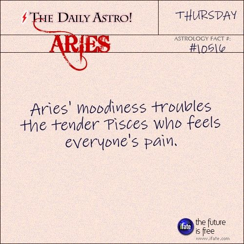 Aries 10516: Visit The Daily Astro for more facts about Aries.