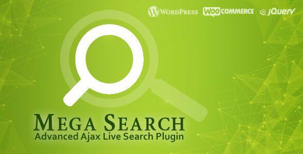 Mega Search – Advanced Live Ajax Search Plugin free download, free theme, free…