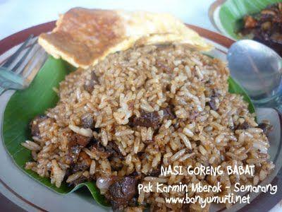 Nasi Goreng Babat from Semarang, Indonesia
