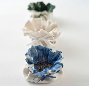 Clare Jordan Ceramics - Porcelain Pouches