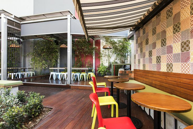 @serenissimacir Cercom Paradise Ecru Decor Mix 200x200 used at The Garden Leederville by Taylor Robinson Architects