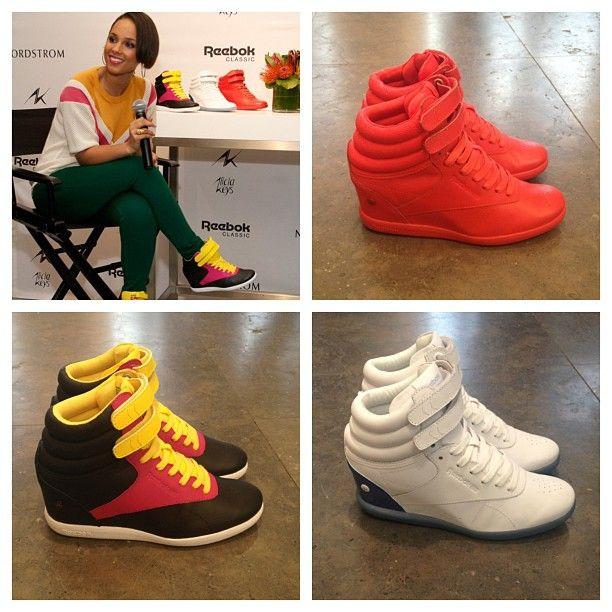 reebok classic sneaker wedge
