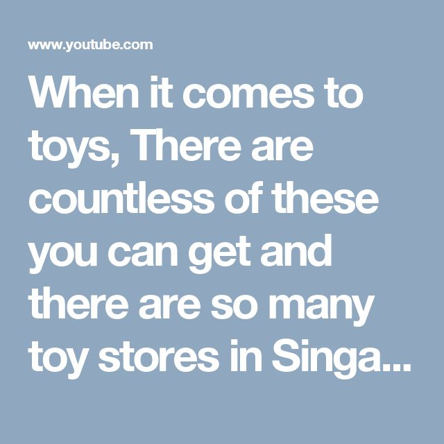When it comes to toys, There are countless of these you can get and there are so many toy stores in Singapore that you can go to. From legos to puzzles, cards to accessories, gaming devices to loadable games and so much more. The world of toys is wide and options are endless. While there is a long list of toys you can find on toy shop in Singapore, to give you a taste of the kind of items our recommended Singapore toy store has we're discussing 4 of the cool toys available on this Singapore…