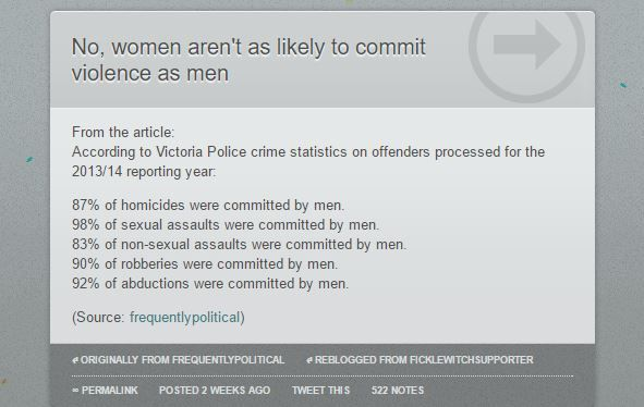 Let's stop pretending that violence isn't gendered - male violence is a thing.