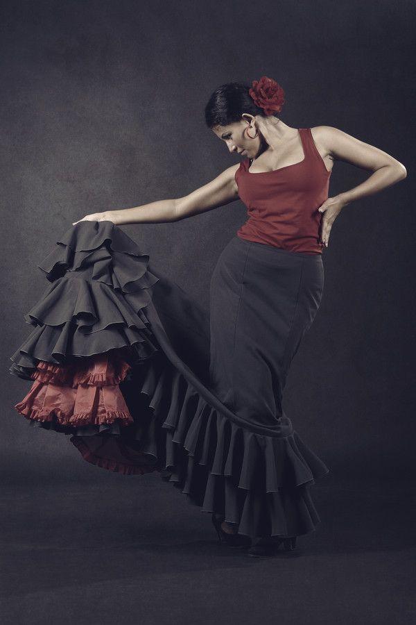 Flamenco Dancer by Natalia Ba,