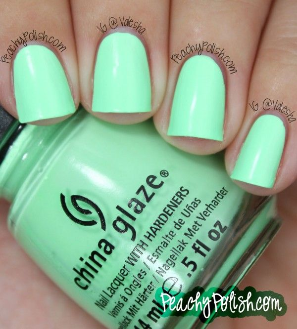 Mint Green Prom Nail: Best 25+ Mint Green Nails Ideas On Pinterest