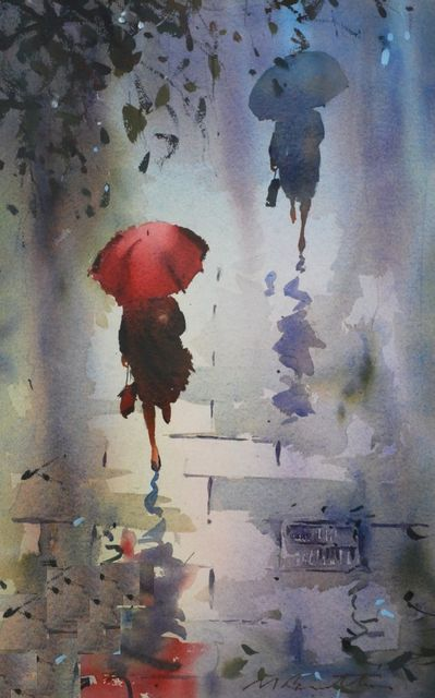 Contemporary Art Gallery Melbourne Australia :: Malcolm Beattie - Watercolourist :: 7