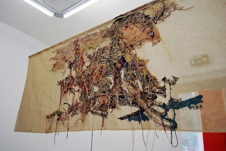 by BERTILLE BAK    2008 from the Radeau de la Méduse.    130 x 190cm. collection Frey