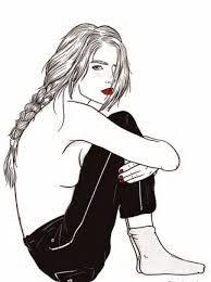 Ms de 25 ideas increbles sobre Dibujo mujer en Pinterest