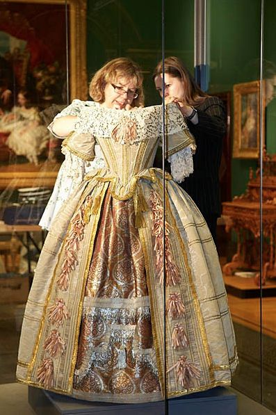 Queen Victoria's Ball gown.