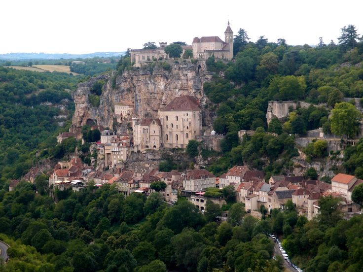 Rocamadour in France. One of my favourite places on Earth.