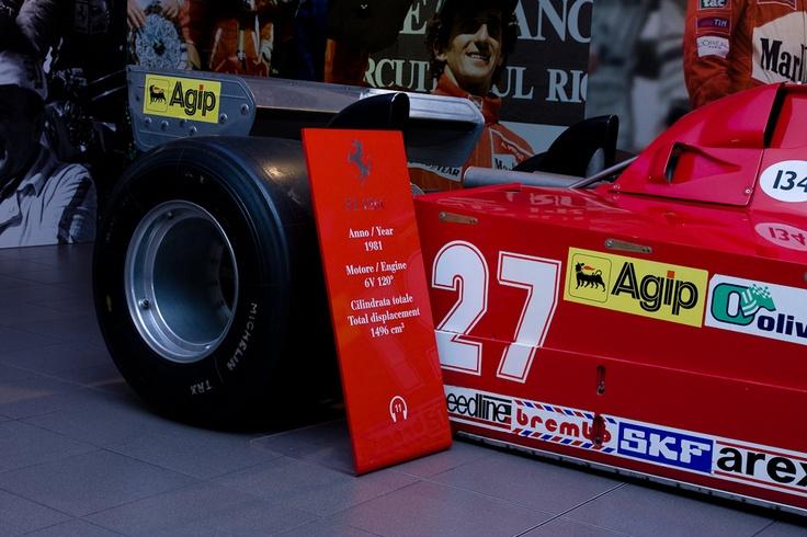 Ferrari F1 126C - Gilles Villeneuve