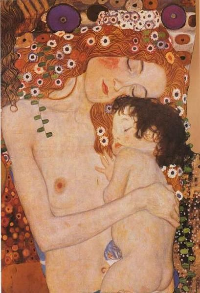 Gustav Klimt Mother and Child Poster 24x36 – BananaRoad