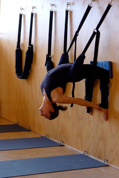 """We've been LOVING suspension yoga lately. It's just the right kind of """"lift"""" we need to get through the day!"""