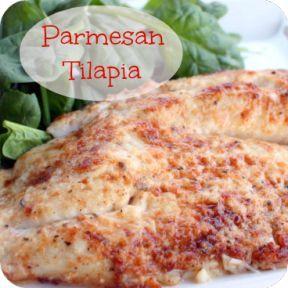 21 Day Fix: Parmesan Crusted Tilapia