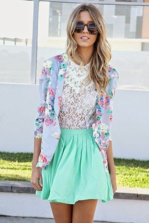 Fresh Mint Outfit Trends for 2015