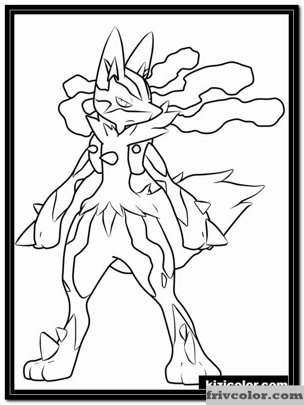 Mega Lucario Coloring Page Unique Lucario Free Printable Coloring Pages For Girls And Boys Pokemon Coloring Pokemon Coloring Pages Pokemon Coloring Sheets