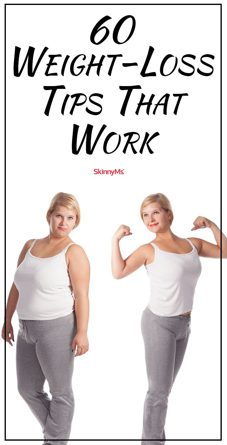 60 Weight Loss Tips that Work - Let's get started!