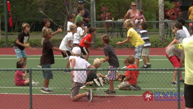 Kids PBI International Tennis Camp - Hanalei Bay Resort - KVIC-TV, myKau...