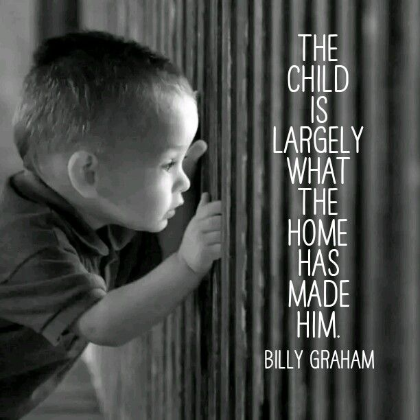 Yes! Stop being complacent and realize you need to TEACH and TRAIN your children.