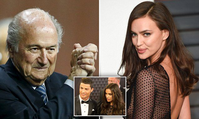 Blatter named as a former lover of Cristiano Ronaldo's ex Irina Shayk