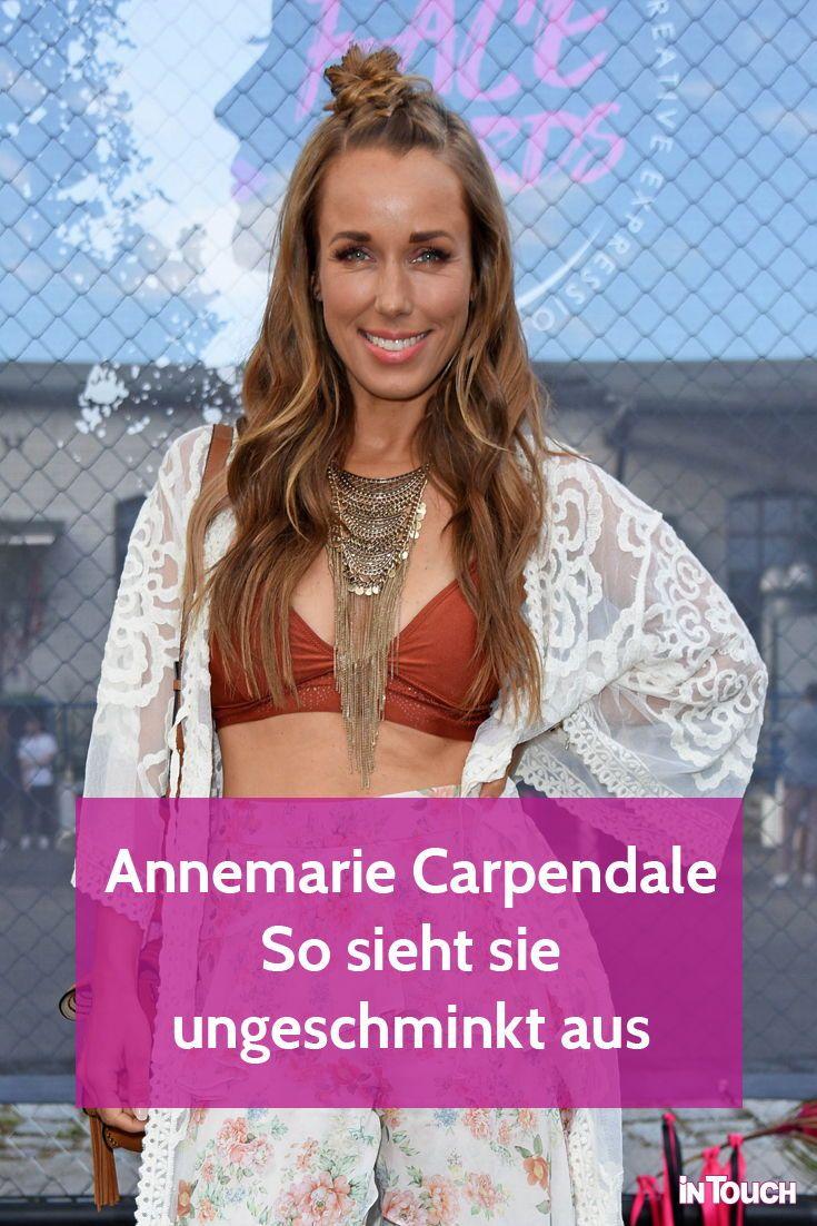 Annemarie Carpendale Ungeschminkt So Schon Ohne Make Up