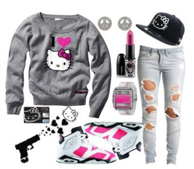 hello+kitty+jordan+outfits+for+teenagers