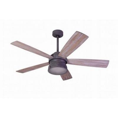 Indoor outdoor weathered gray ceiling fan 89764