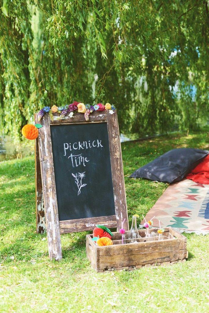 Inspiratie: Picknick bruiloft - Girls of honour