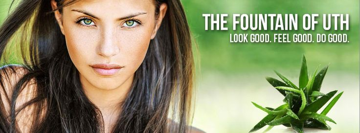 Discover the fountain of youth! www.facebook.com/thefountainofuth