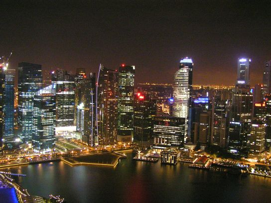 Singapore.  Weekly Photo Challenge: On Top | The Dont Forget Travel Group