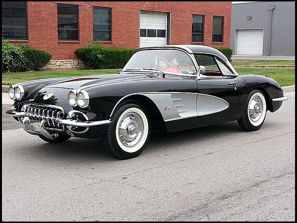 1958 Chevrolet Corvette Convertible 283/245 HP, 4-Speed  #Mecum #Dallas