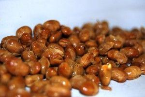 Boabe de soia coapte